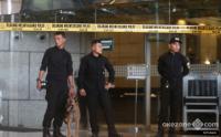 Polisi Sita Barang Bukti Ambruknya Selasar di Gedung BEI