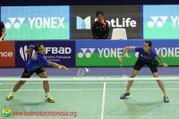 Hafiz Gloria Melaju, Ihsan Maulana Gagal Susul Anthony ke Perempatfinal Malaysia Masters 2018