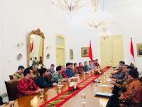Jokowi Terima Utusan Khusus Perdana Menteri Jepang di Istana Bogor