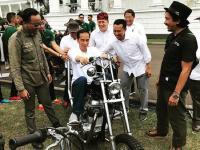 Ini Alasan Jokowi Kepincut Motor Costom Chopperland