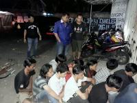 Blokade Jalan, 15 Anggota Geng Motor Ditangkap Polres Klaten