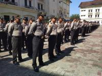 Polisi Jabar Gelar Apel Pengamanan dan Ikrar Damai Jelang Masa Kampanye