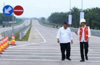 Ke Lampung, Jokowi Resmikan Tol Trans Sumatera