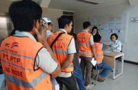 Cegah Penyalahgunaan Narkotika, BNN DKI Lakukan Tes Urine di Pelabuhan Tanjung Priok