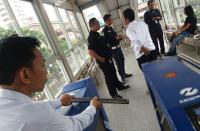 Ada Penumpang <i>Ngamuk</i>, Fasilitas Halte Transjakarta ITC Mangga Dua Dirusak