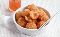 Sarapan Pagi Makin Nikmat dengan Bola Udang Balut Roti & Telur Masak Nanas