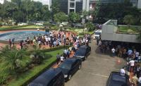 Gempa 6,4 SR, Pegawai Kementerian BUMN Berhamburan Keluar Gedung