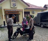 Motor Milik Mahasiswi Asal Malaysia Setahun Terparkir di Kantor Polisi Aceh