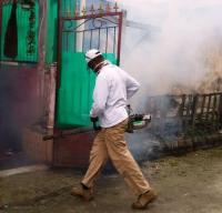 Rescue Perindo Kabupaten Jayapura Wujudkan Permintaan Mem-<i>Fogging</i> Rumah Warga