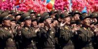 HUT Tentara Korut Diisi Parade Militer Jelang Olimpiade Musim Dingin