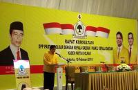 Golkar Gelar Rapat Bersama Kepala Daerah, Pimpinan KPK Ikut Hadir