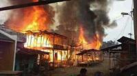 Korban Kebakaran di Mandailing Natal Masih Syok