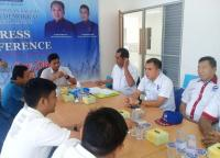 Menangkan Ridho Ficardo-Bachtiar Nasir, Partai Perindo Lampung Sambangi Demokrat