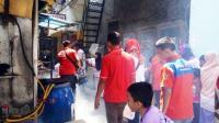 Rescue Perindo Gelar <i>Fogging</i> di Kawasan Rumah Padat Penduduk di Penjaringan