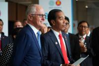 Hari Kedua di Sydney, Presiden Jokowi Bertemu PM Turnbull