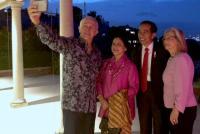 Presiden Jokowi dan PM Australia Bahas Perdagangan dan Berswafoto