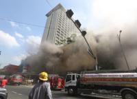 Tiga Orang Tewas dalam Kebakaran Hotel di Manila