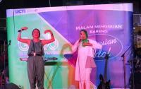Hujan Tak Halangi Kemeriahan Malam Mingguan Bareng Indonesian Idol di Makassar