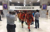 Kepulan Asap di Gedung DPR Hilang, Petugas Pemadam Kebakaran Balik Kanan