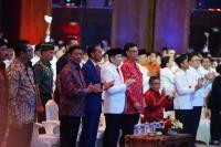 Presiden Jokowi dan Sejumlah Tokoh Hadiri Rapimnas II Perindo