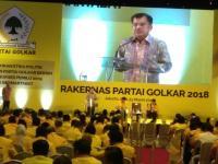 JK Nilai Ketum Golkar Cocok Jadi Cawapres Jokowi: Tinggal Usaha Saja