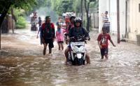 Diguyur Hujan 8 Jam, Ribuan Rumah Warga di Mamuju Terendam Banjir