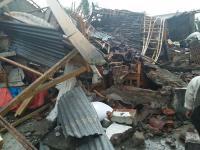 Ratusan Rumah di Banjar Rusak Diterjang Angin Puting Beliung