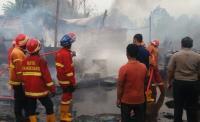 Gudang Tiner di Tangerang Meledak, Satu Rumah Ludes Terbakar