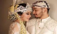 Menikah, Syahnaz Sadiqah Pilih Kebaya Sunda dan Gaun Bertema Stardust