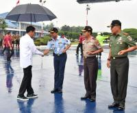 Jokowi Tinjau Langsung Penanganan Gempa di Banjarnegara