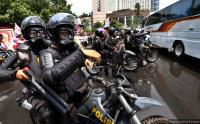 7 Ribu Personel Polisi Amankan Demo Ojek <i>Online</i> di Gedung DPR