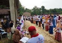 Cara Grind dan Kartini Perindo Dekat dengan Warga Pati, Senam Bersama dan Beri Bantuan