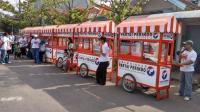 Perindo Pekalongan Kota Bagikan 6 Gerobak kepada Pedagang Kecil