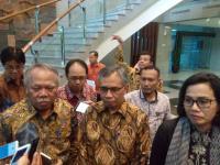 Datangi Kantor Menteri Basuki, Sri Mulyani dan Ketua OJK Bahas Tapera