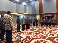 Lantik 2 Pejabat, Menko Darmin: Dalam Kerja Harus Saling Mendukung