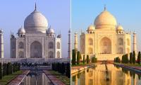 Taj Mahal Berubah Warna Akibat Polusi, Begini Penampakannya!