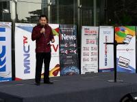Hary Tanoe dan Menhub Lepas Tim Mudik 2018 MNC Media