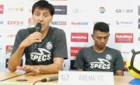 2 Pemain Asing Arema Absen saat Hadapi PSMS Medan