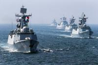 China Kirim Kapal Perang Tantang Amerika Serikat