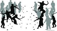 Bonek-Jakmania Bentrok di Bantul, Puluhan Suporter Terluka