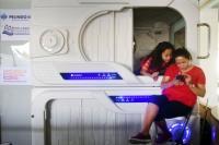 Ada Hotel Kapsul di Atas Kapal, Netizen: Dahsyat seperti di Jepang