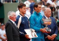 Nadal Puji Penampilan Thiem pada Laga Final Prancis Open 2018