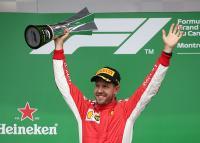 Bos Ferrari Bocorkan Kunci Kemenangan Vettel di Kanada