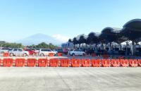 Macet Jelang <i>Rest Area</i> di Tol Cipali, <i>Contraflow</i> dan <i>One Way</i> Diberlakukan
