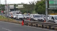 Arus Balik, Kendaraan Mengular di Jembatan Suramadu Sisi Madura