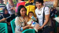 Perindo Bojonegoro Bagikan 1.350 Paket Beras di Tiga Desa