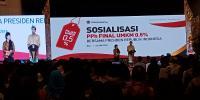Sosialisasikan PPh UMKM 0,5%, Jokowi Inginkan Pengusaha Naik Kelas