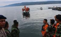 Alat Scan Sonar Deteksi Objek di Kedalaman 490 Meter di Danau Toba