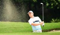 Justin Melejit, Naarajie Bertaji di Golf Indonesia Open 2018