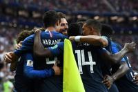 Prancis Ungguli Kroasia 2-1 di Babak Pertama